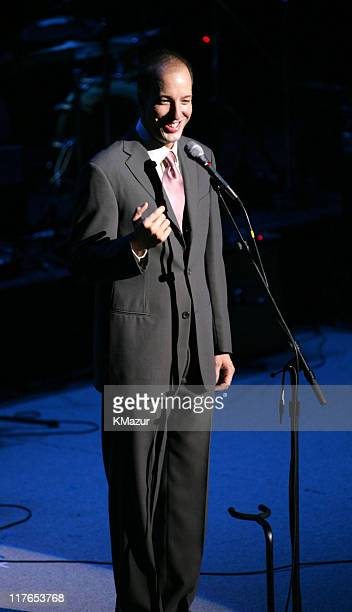 Anthony Romero executive director of ACLU during The ACLU Freedom Concert and After Party at Avery Fisher Hall in New York City New York United States