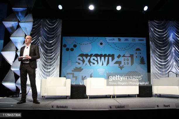 Anthony Romero speaks onstage at Featured Session Making Change On and Off the Screen during the 2019 SXSW Conference and Festivals at Hilton Austin...