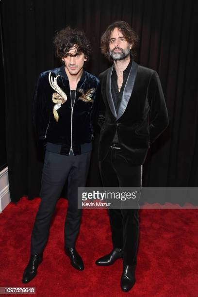 Anthony Rossomando and Andrew Wyatt attend the 61st Annual GRAMMY Awards at Staples Center on February 10 2019 in Los Angeles California