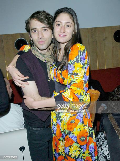 Anthony Roth Costanzo and Arden Wohl during Stephen Petronio Benefit Event Opening Night of 'BLOOM' at the Joyce Theatre in New York City After Party...