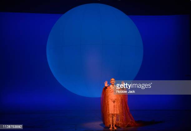 Anthony Roth Costanzo as Akhnaten in English National Opera's production of Philip Glass's Akhnaten directed by Phelim McDermott at The London...