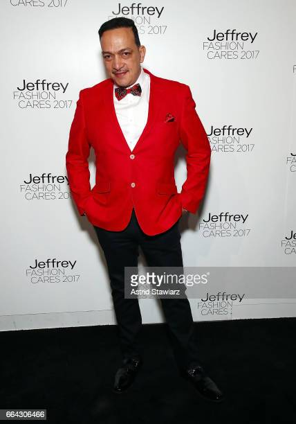 Anthony Rubio attends Jeffrey Fashion Cares 2017 at Intrepid SeaAirSpace Museum on April 3 2017 in New York City