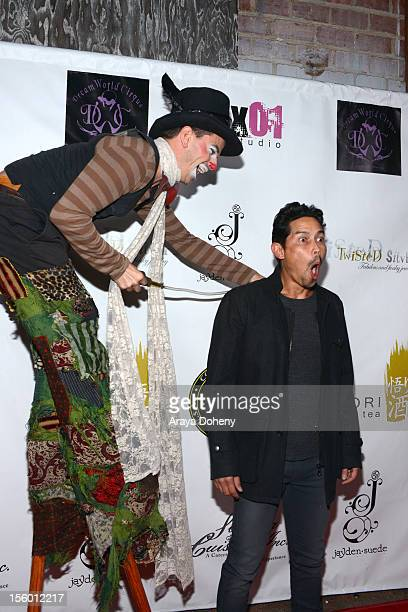 Anthony Ruivivar attends the JaydenSuede launch event at Six01 Studio on November 10 2012 in Los Angeles California