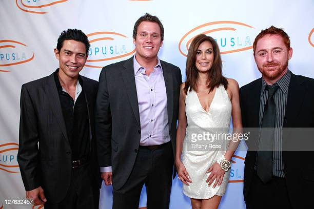 Anthony Ruivivar Bob Guiney Teri Hatcher and Scott Grimes attend the 11th Annual Lupus Los Angeles Orange Bowl at the Beverly Wilshire Four Seasons...
