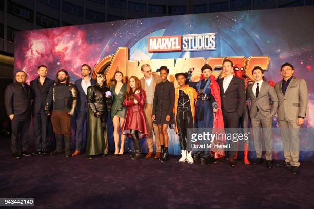 Anthony Russo Sebastian Stan guest Tom Hiddleston guest Elizabeth guest Olsen Paul Bettany Letitia Wright guest guest Benedict Cumberbatch guest Tom...