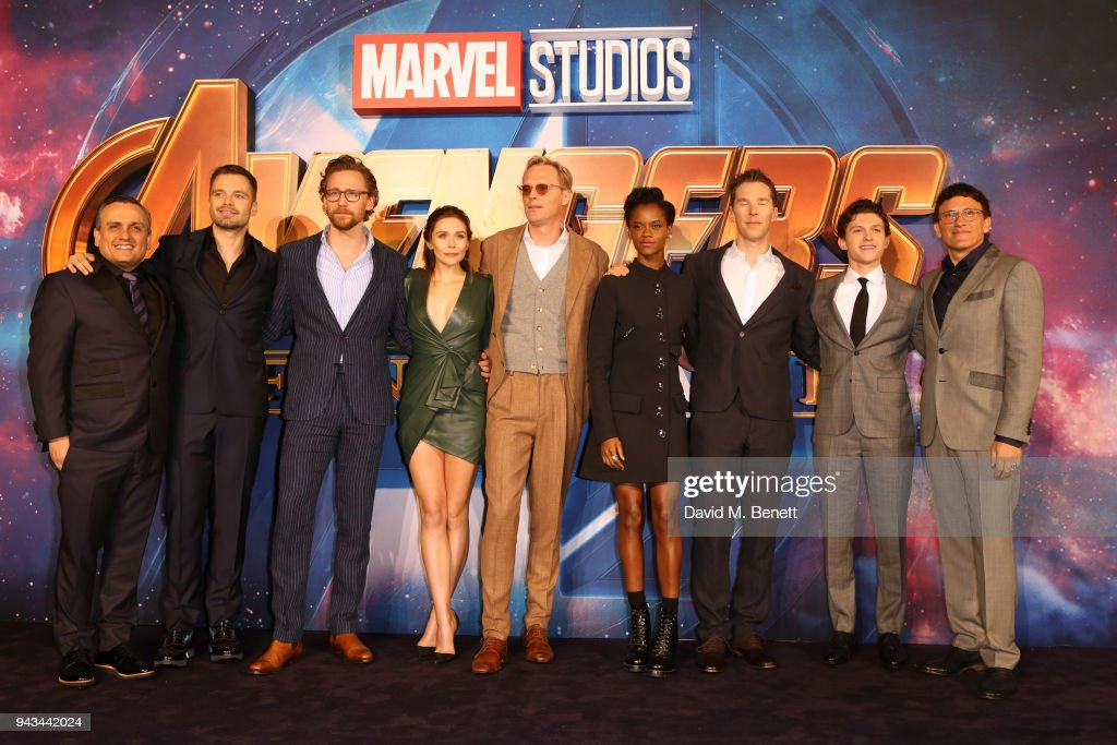 'Avengers: Infinity War' - UK Fan Event - VIP Arrivals : News Photo
