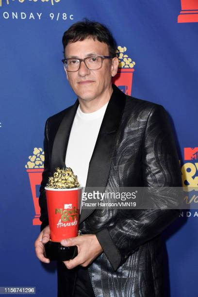 Anthony Russo, winner of the Best Movie award for 'Avengers: Endgame,' attends the 2019 MTV Movie and TV Awards at Barker Hangar on June 15, 2019 in...