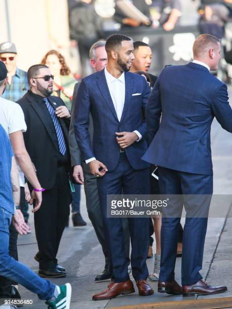 Anthony Sadler is seen arriving at 'Jimmy Kimmel Live' on February 05 2018 in Los Angeles California