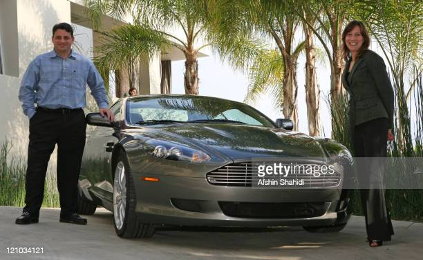 Anthony Salerno and Jessica Casillo of ASTON MARTIN