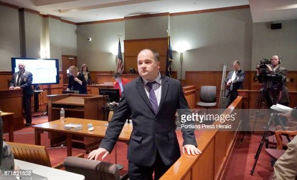 Anthony Sanborn walks out of court in Portland on Wednesday November 8 2017 a free man after reaching an agreement with the state during his...