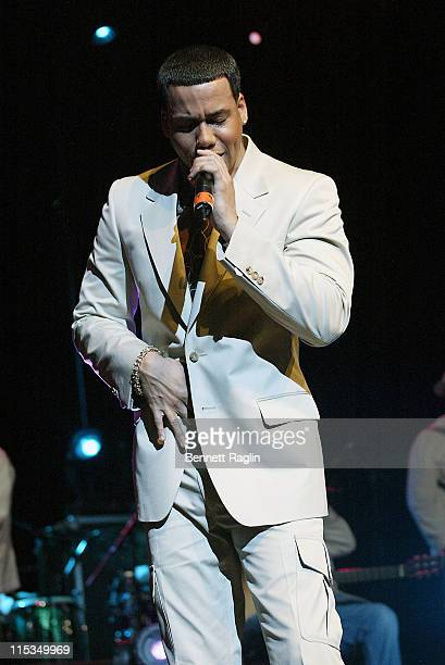 Anthony Santos during Aventura God Project Tour at the Theater at Madison Square Garden March 11 2006 at Theater at Madison Square Garden in New York...