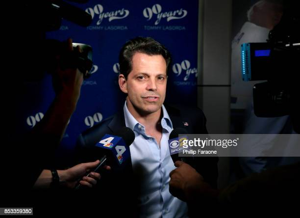 Anthony Scaramucci at Tommy Lasorda's 90th Birthday Celebration at The Getty Center on September 24 2017 in Los Angeles California