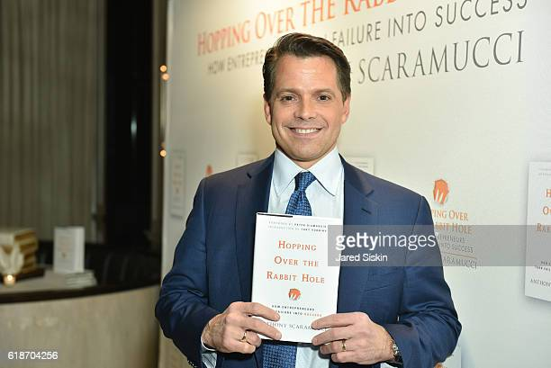 Anthony Scaramucci attends the 'Hopping Over the Rabbit Hole' Anthony Scaramucci Book Party on October 27 2016 in New York City
