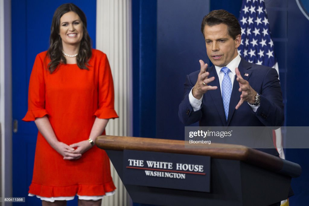 Newly Appointed White House Communications Director Anthony Scaramucci Speaks During Press Briefing