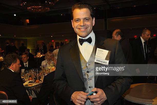Anthony Scaramucci founder and comanaging partner of SkyBridge Capital attend the Ernst Young Entrepreneur of the Year competition finalists dinner...
