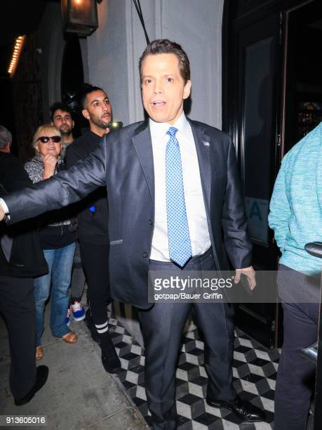 Anthony Scaramucci is seen on February 02 2018 in Los Angeles California