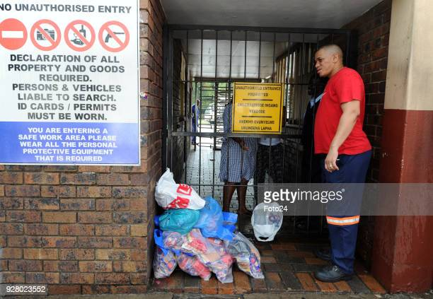 Anthony Schalkwyk from Boksburg returns products from an Enterprise outlet after a recall by Health Minister Aaron Motsoaledi following a listeria...