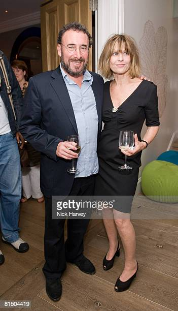 """Anthony Sher and Julie Christie attend """"Cries from the Heart"""" presented by Human Rights Watch at the Theatre Royal Haymarket on June 8, 2008 in..."""