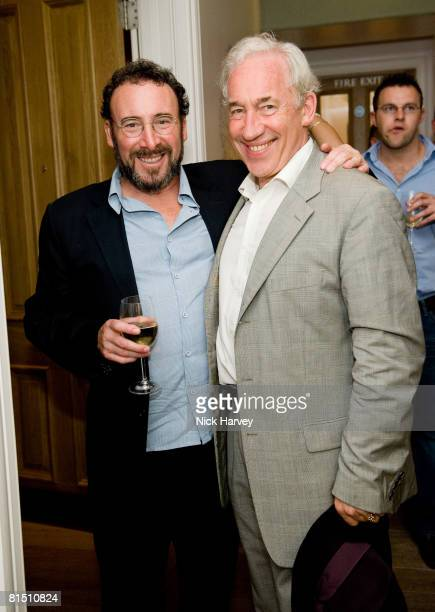 Anthony Sher and Simon Callow attend 'Cries from the Heart' presented by Human Rights Watch at the Theatre Royal Haymarket on June 8, 2008 in London,...