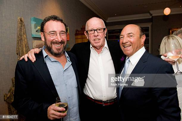 """Anthony Sher, Richard Wilson and Arnold Crook attend """"Cries from the Heart"""" presented by Human Rights Watch at the Theatre Royal Haymarket on June 8,..."""
