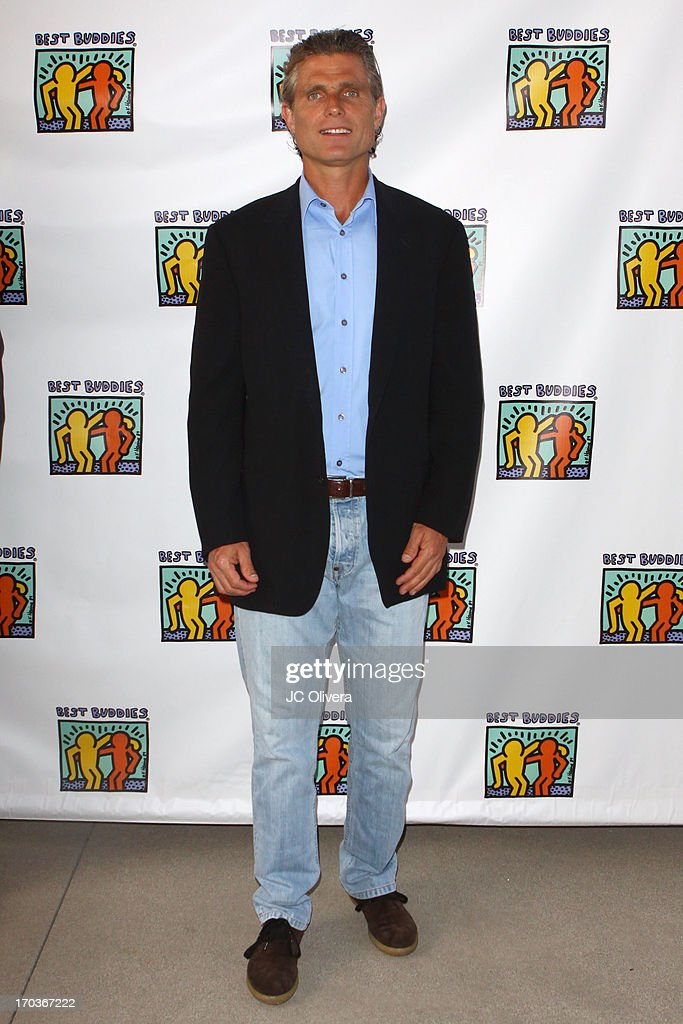 Anthony Shriver attends Best Buddies Jobs Vanguard reception at UTA on June 11, 2013 in Beverly Hills, California.