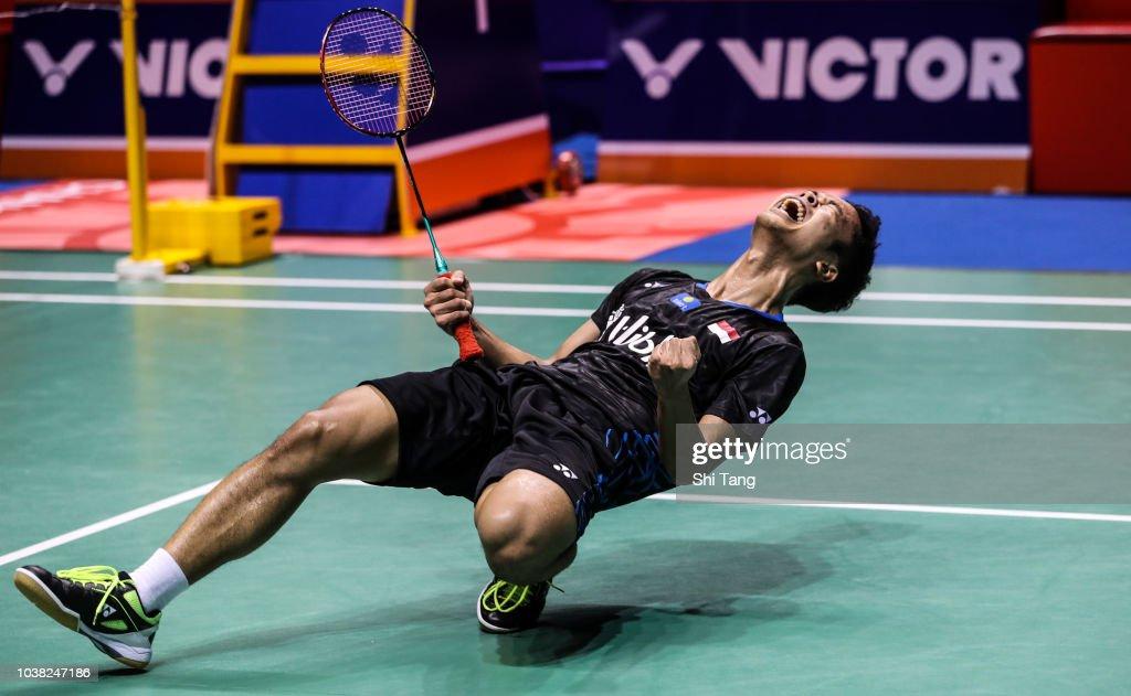 2018 China Open Badminton - Day Six : News Photo