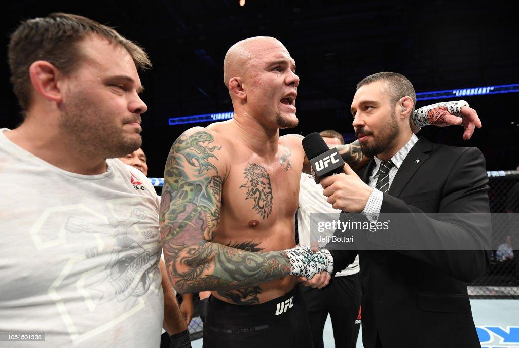 UFC Fight Night: Volkan v Smith : News Photo