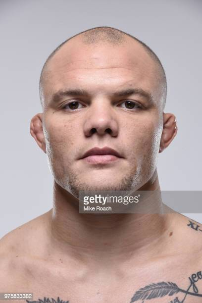 Anthony Smith poses for a portrait during a UFC photo session on June 6 2018 in Chicago Illinois