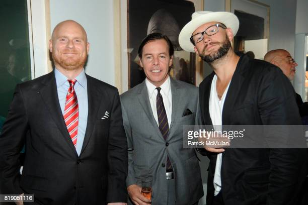 Anthony Sperduti Andy Spade and Jordan Crane attend AOL Celebrates Project on Creativity with CHUCK CLOSE at New Museum on May 26 2010 in New York...