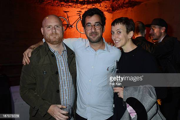 Anthony Sperduti Philip Andelman and Sarah Lerfel Andelman attend the 'Shinola Detroit ' Secret Party hosted by Colette At Place Vendome on November...