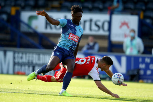 GBR: Wycombe Wanderers v Fleetwood Town - Sky Bet League One Play Off Semi-final 2nd Leg