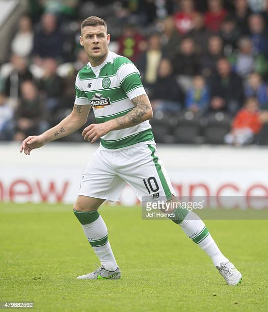 Anthony Stokes of Celtic at the Pre Season Friendly between Celtic and FK Dukla Praha at St Mirren Park on July 04 2015 in Paisley Scotland