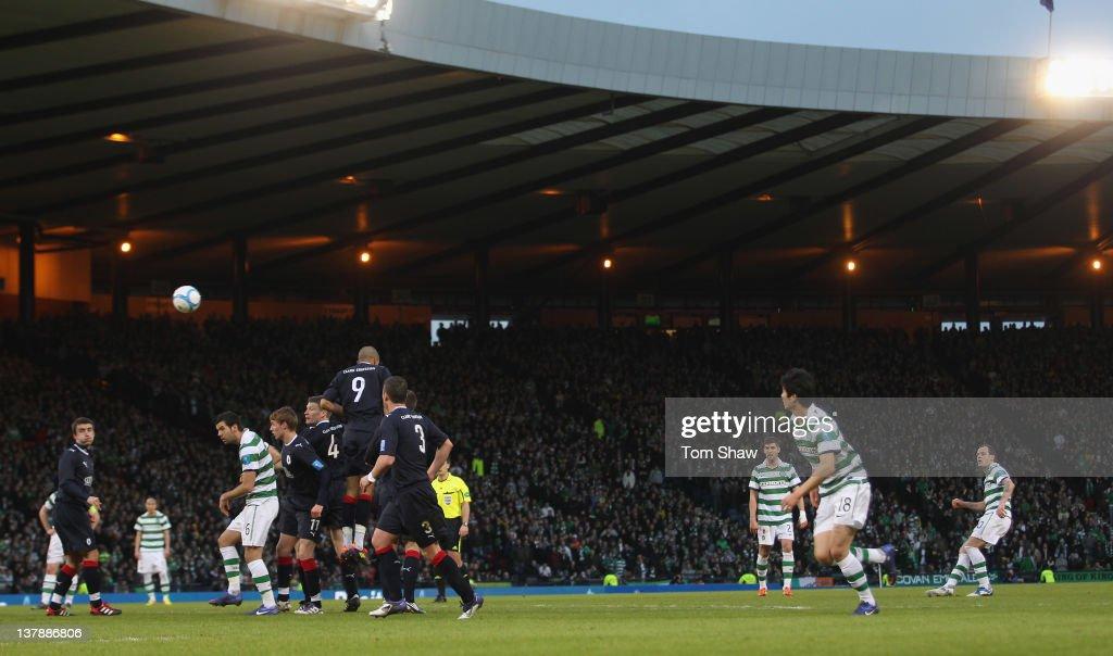 Falkirk v Celtic - Scottish Communities Cup Semi Final