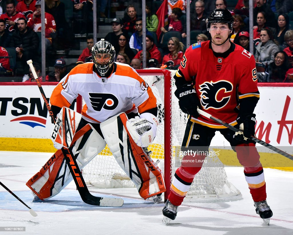 Philadelphia Flyers v Calgary Flames : News Photo
