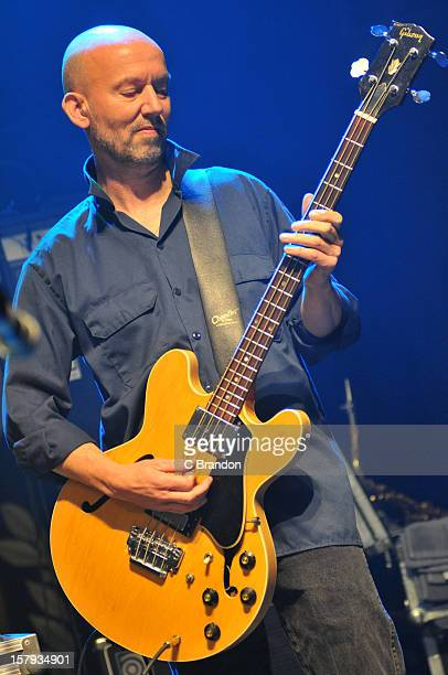 Anthony Thistlewaite of The Saw Doctors performs on stage at O2 Shepherd's Bush Empire on December 7 2012 in London England