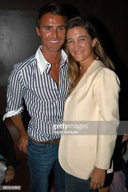 Anthony Todd and Vanessa Von Bismarck attend Spoon Celebrates Matthew Williamson Spring 2006 Collection at Guest House on September 13 2005 in New...