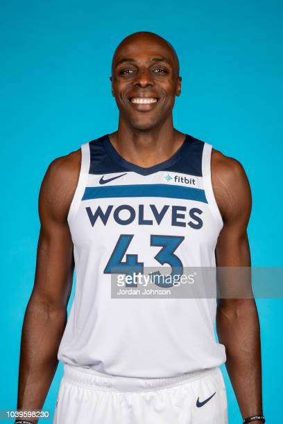 Anthony Tolliver of the Minnesota Timberwolves poses for a headshot during the 2018 Media Day on September 24 2018 at Target Center in Minneapolis...