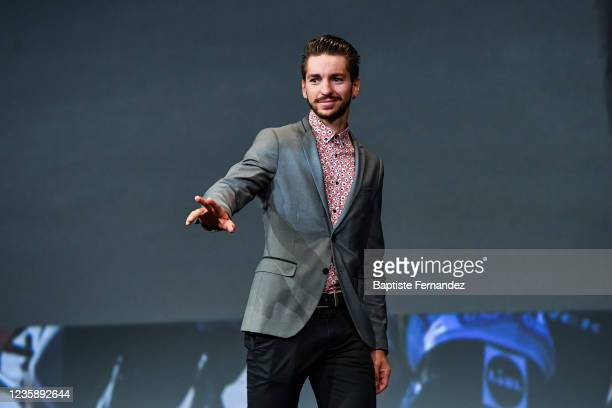 Anthony TURGIS during the presentation of the Tour de France 2022 at Palais des Congres on October 14, 2021 in Paris, France.