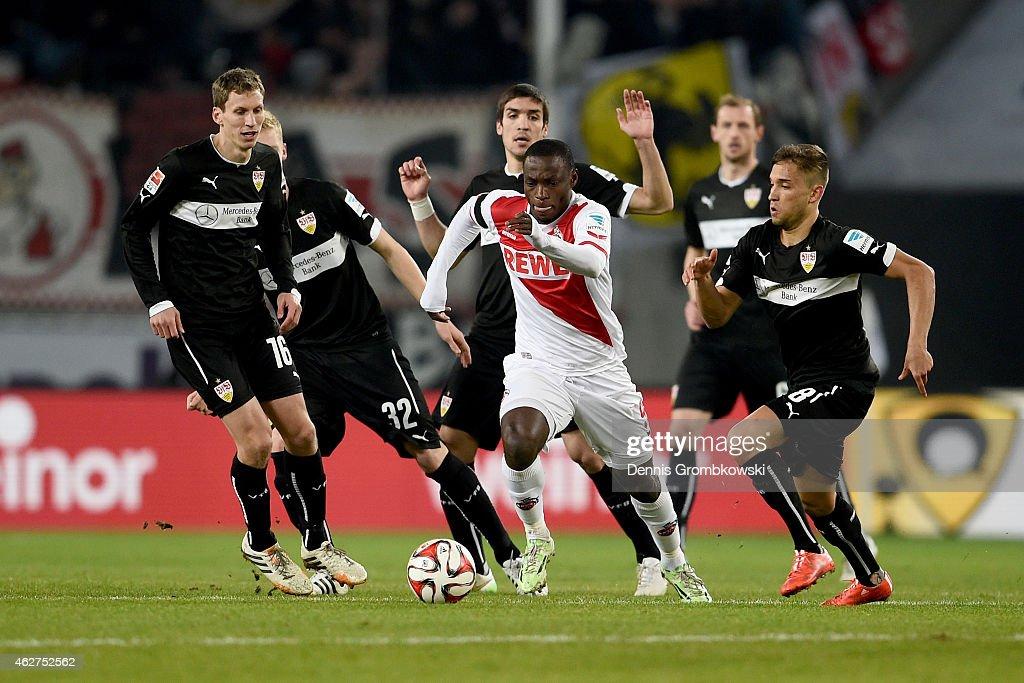 1. FC Koeln v VfB Stuttgart - Bundesliga : News Photo