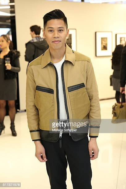 Anthony Urbano attends the Stories Untold Conde Nast Collection Presented By Getty Images Opening Celebration at The Conde Nast Gallery on March 24...