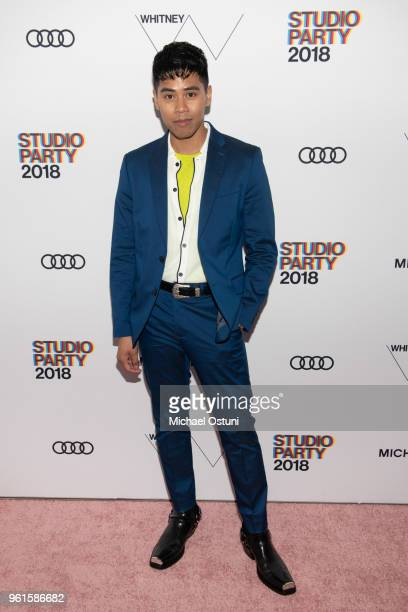 Anthony Urbano attends the Whitney Museum Celebrates The 2018 Annual Gala And Studio Party at The Whitney Museum of American Art on May 22 2018 in...