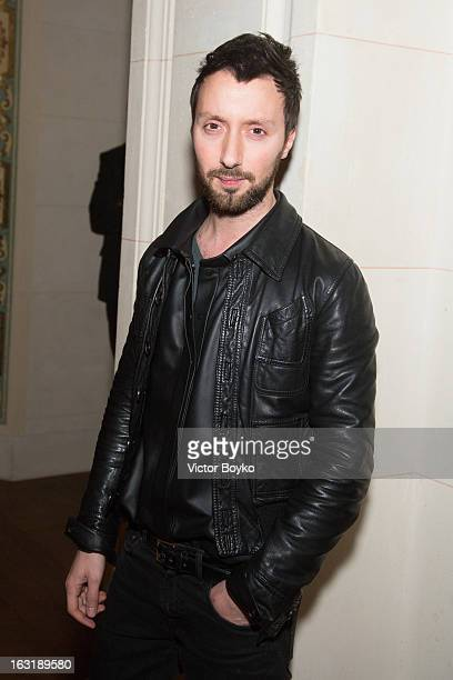 Anthony Vacarello attends 'CR Fashion Book Issue 2' Carine Roitfeld Cocktailas part of Paris Fashion Week at Hotel ShangriLa on March 5 2013 in Paris...