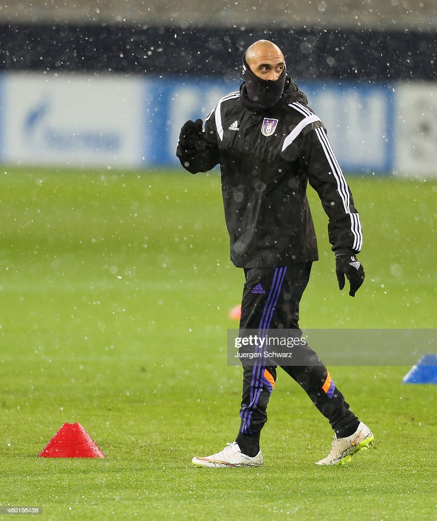 RSC Anderlecht  - Training and Press Conference