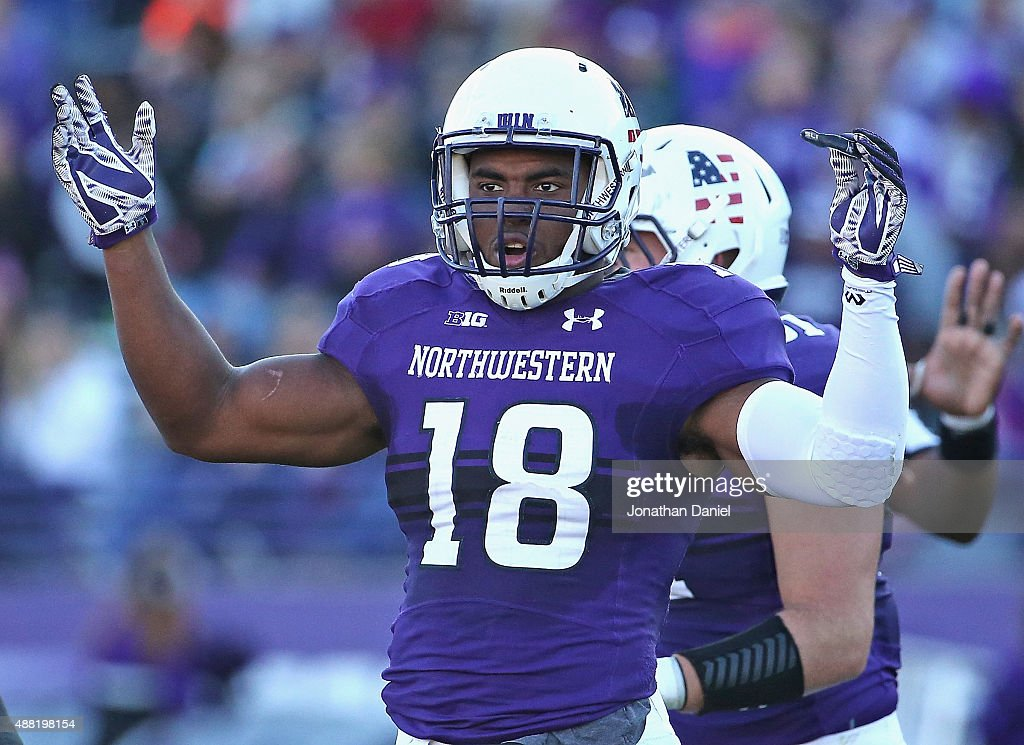 Eastern Illinois v Northwestern : News Photo