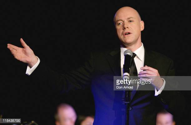 """Anthony Warlow attends the photo call for the Sydney stage production of """"The Phantom Of The Opera"""" at Star City on October 22, 2007 in Sydney,..."""