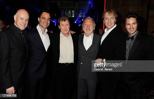 Anthony Warlow Ramin Karimloo Michael Crawford Colm Wilkinson John OwenJones and Peter Joback attend an afterparty following the 25th Anniversary...