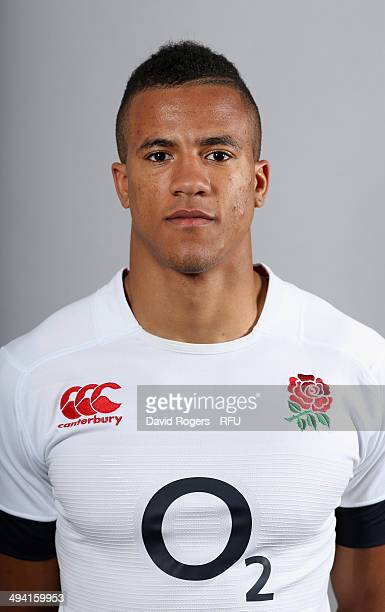 Anthony Watson of England poses for a portrait at the Lensbury Club on May 26 2014 in Teddington England