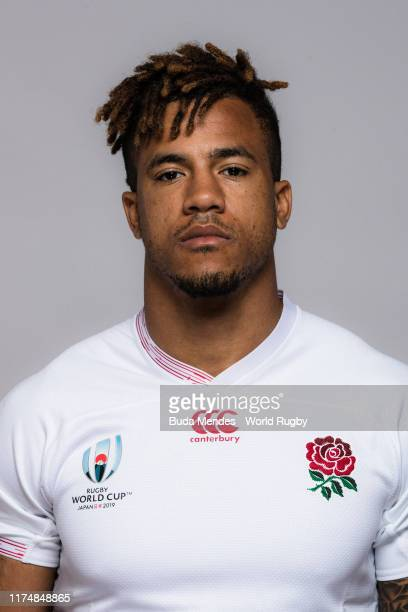 Anthony Watson of England poses for a portrait during the England Rugby World Cup 2019 squad photo call on September 15 2019 in Miyazaki Japan