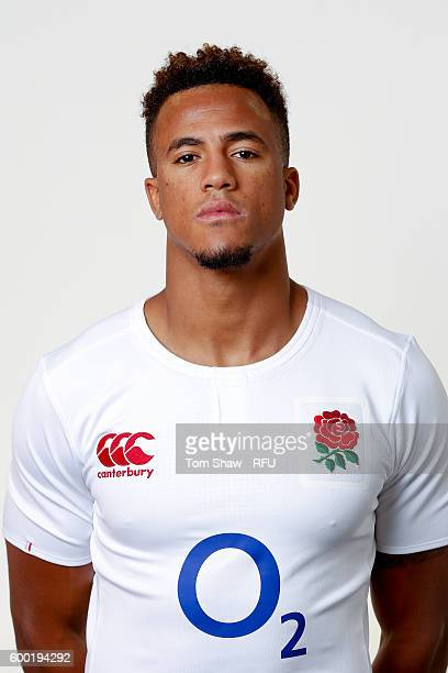 Anthony Watson of England poses for a portrait during the England Elite Player Squad photo call at The Lensbury on August 7 2016 in Teddington England