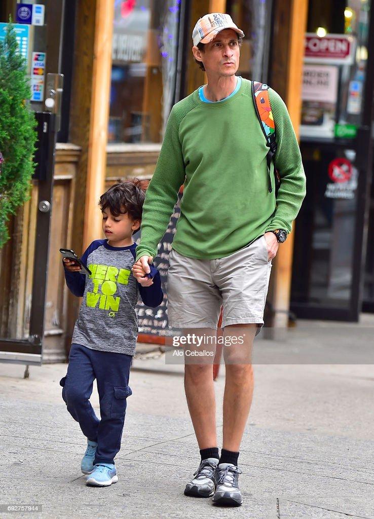 Celebrity Sightings in New York City - June 5, 2017